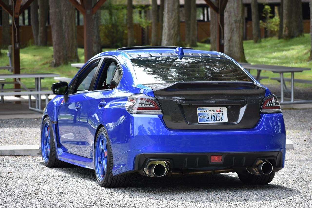 New 2015 2019 Subaru Impreza Wrx Sti Ss Carbon Fiber Trunk