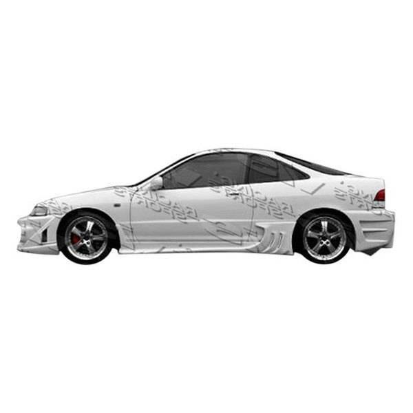 1994-2001 Acura Integra 2Dr Wave Side Skirts