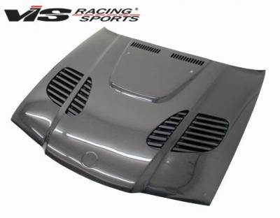 VIS Racing - Carbon Fiber Hood GTR Style for BMW 3 SERIES(E36) 2DR 92-98