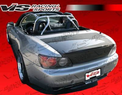 VIS Racing - Carbon Fiber Trunk K2 Style for Honda S2000 2DR 00-09