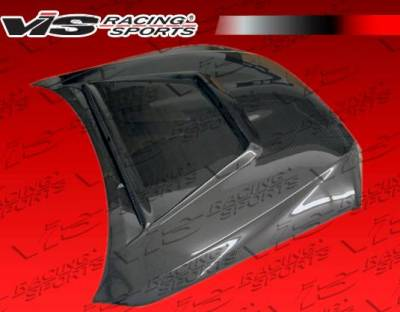 VIS Racing - Carbon Fiber Hood Tracer Style for Lexus IS300 4DR 00-05
