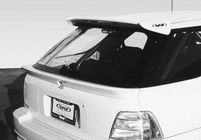 Wings West - 1994-1997 Honda Accord Wagon 1Pc Rear Hatch Spoiler No Light
