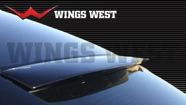 Wings West - 2006-2010 Dodge Charger 4Dr Lsc Custom Roof Spoiler Urethane