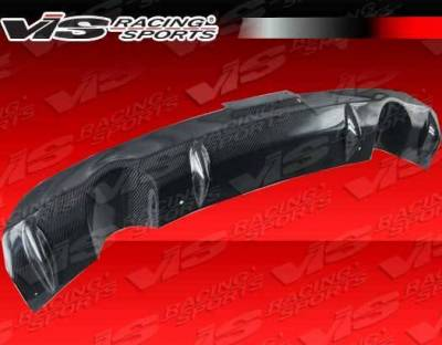 VIS Racing - 2003-2007 Infiniti G35 2Dr Custom Carbon Fiber Rear Center Diffuser