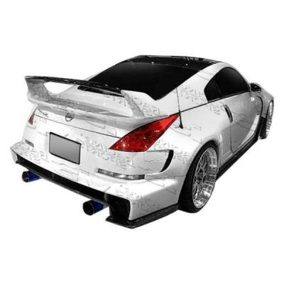 VIS Racing - 2003-2008 Nissan 350Z 2Dr Ams Widebody Side Skirts