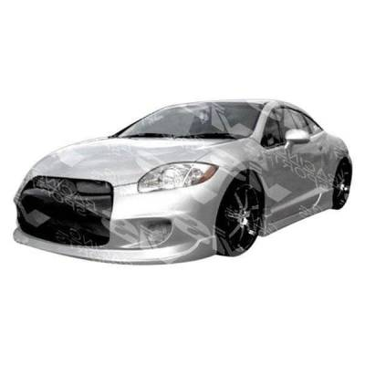VIS Racing - 2006-2012 Mitsubishi Eclipse 2Dr Ballistix Side Skirts