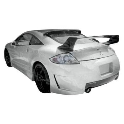 VIS Racing - 2006-2012 Mitsubishi Eclipse 2Dr Demon Rear Bumper