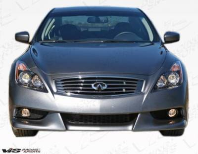 VIS Racing - 2008-2013 Infiniti G37 2Dr IPL Style Front Bumper