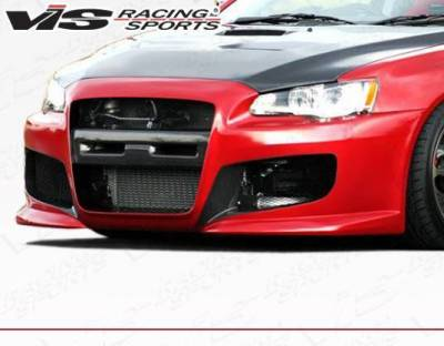 VIS Racing - 2008-2015 Mitsubishi Evo 10 Z Speed Front Bumper