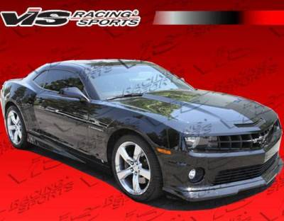 VIS Racing - 2010-2013 Chevrolet Camaro Sx Side Skirts