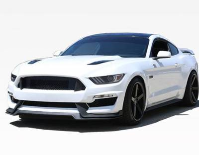 VIS Racing - 2015-2017 Ford Mustang GT350 Style Front Bumper Conversion Polypropylene