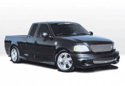 VIS Racing - 1997-2003 Ford F-150 Super Cab W-Typ Right Front Quarter Flare
