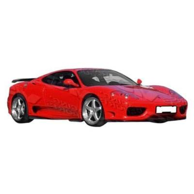 VIS Racing - 1999-2004 Ferrari F360 Euro Tech Front Lip