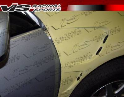 VIS Racing - 2003-2007 Honda Accord 4Dr Laser Fenders