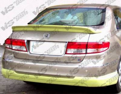 VIS Racing - 2003-2005 Honda Accord 4Dr Techno R Trunk Spoiler
