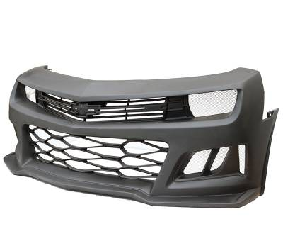 VIS Racing - 2010-2013 Chevrolet Camaro ZL6 Conversion Front Bumper