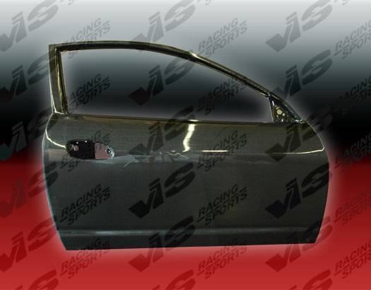 VIS Racing - Carbon Fiber Door OEM Style for Acura RSX 2DR 02-06