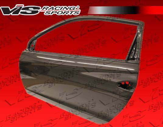 VIS Racing - Carbon Fiber Door OEM Style for Honda CR-Z Hatchback 11-12