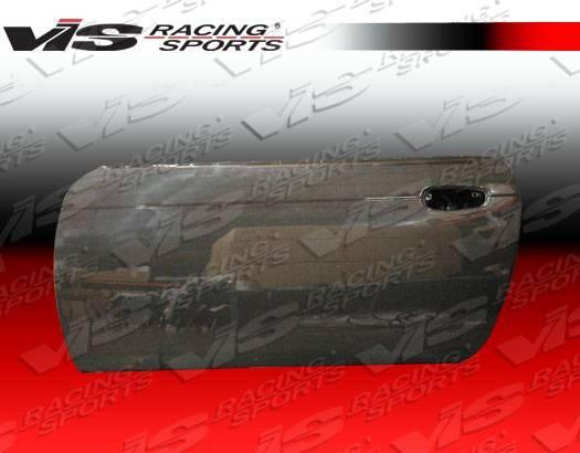 VIS Racing - Carbon Fiber Door OEM  Style for Nissan 240SX 2DR & Hatchback 95-98