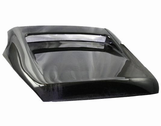 VIS Racing - Carbon Fiber Hatch Tunnel Style for Nissan 350Z Hatchback 03-08