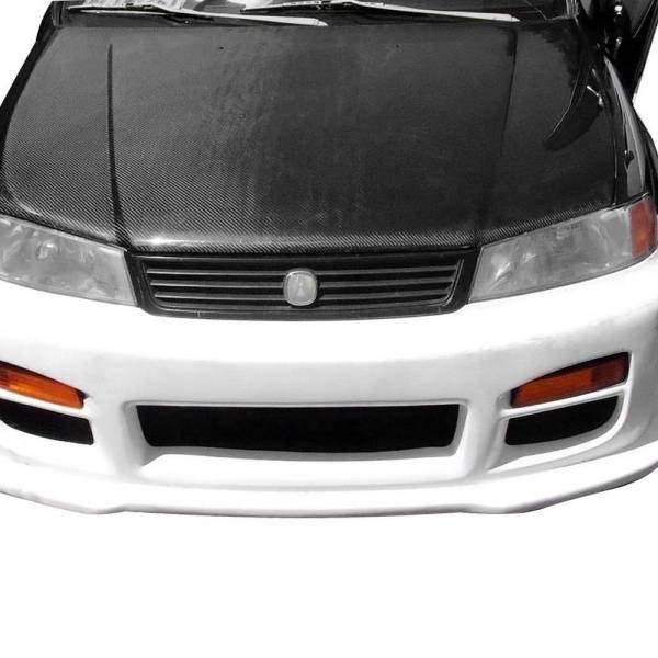 VIS Racing - Carbon Fiber Hood OEM Style for Acura EL / Domani 4DR 97-00