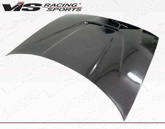 VIS Racing - Carbon Fiber Hood JS Style for Acura Integra 2DR & 4DR 90-93