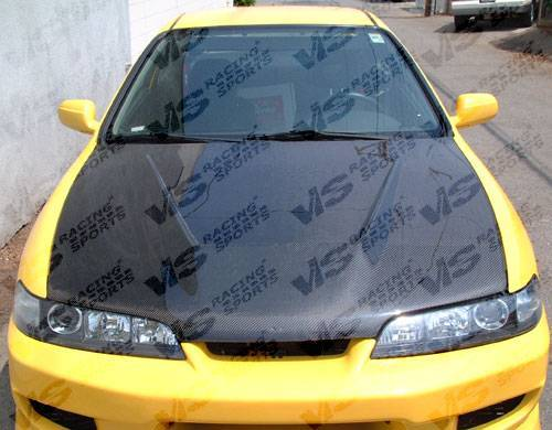 VIS Racing - Carbon Fiber Hood Invader  Style for Acura Integra (JDM) 2DR & 4DR 94-01