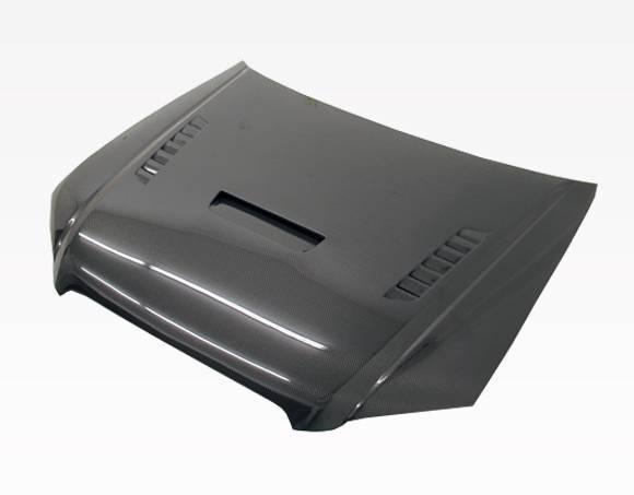 VIS Racing - Carbon Fiber Hood XTS Style for AUDI A4 4DR 06-08