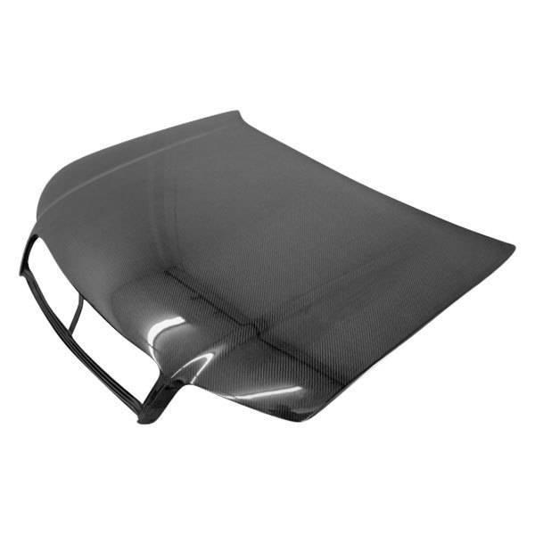 VIS Racing - Carbon Fiber Hood OEM Style for AUDI A4 4DR 02-05