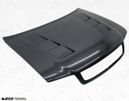 VIS Racing - Carbon Fiber Hood Terminator Style for AUDI A4 4DR 96-01