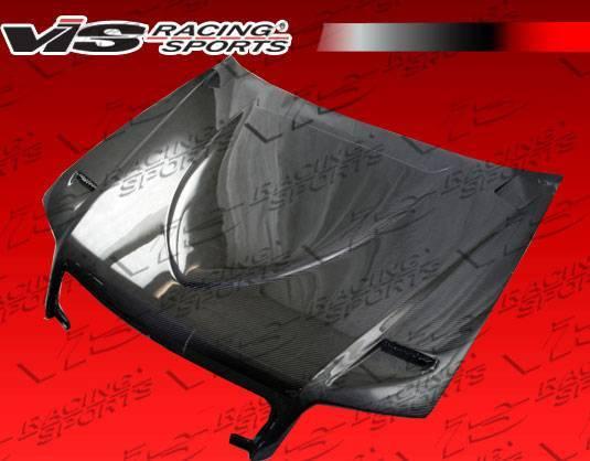 VIS Racing - Carbon Fiber Hood Euro R Style for AUDI S4 4DR 05-08