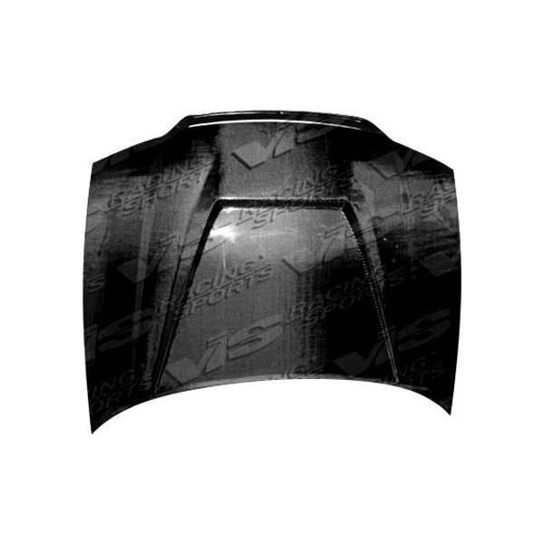 VIS Racing - Carbon Fiber Hood Invader Style for AUDI S4 4DR 98-02