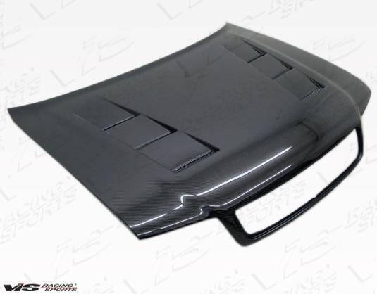 VIS Racing - Carbon Fiber Hood Terminator Style for AUDI S4 4DR 98-02