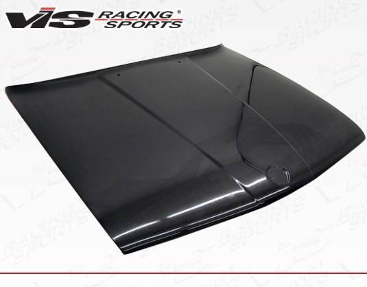 VIS Racing - Carbon Fiber Hood OEM Style for BMW 3 SERIES(E30) 2DR & 4DR 84-91