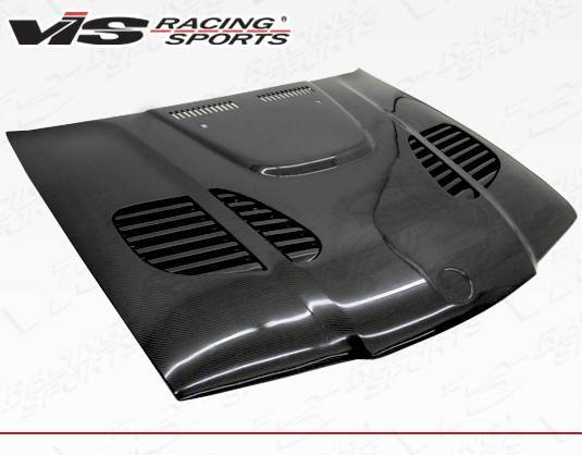 VIS Racing - Carbon Fiber Hood GTR Style for BMW 3 SERIES(E36) 4DR 92-98