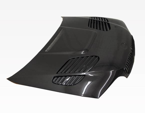 VIS Racing - Carbon Fiber Hood GTR Style for BMW 3 SERIES(E46) 2DR 04-05