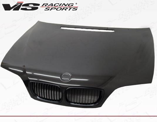 VIS Racing - Carbon Fiber Hood OEM Style for BMW 3 SERIES(E46) 4DR 02-05