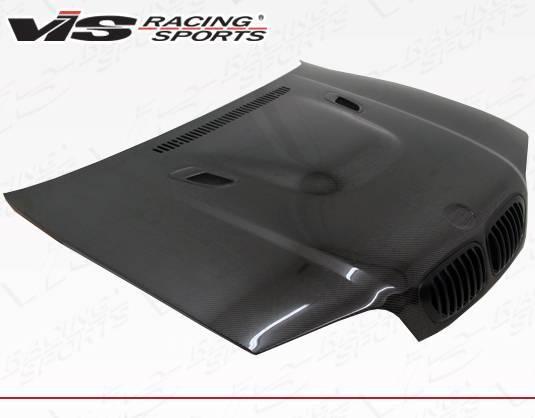 VIS Racing - Carbon Fiber Hood E92 M3 Style for BMW 3 SERIES(E46) 2DR 99-03