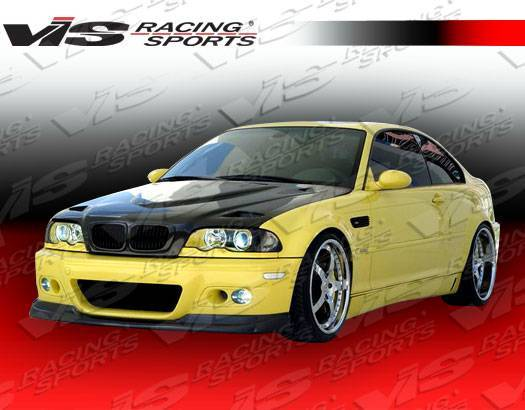 VIS Racing - Carbon Fiber Hood Euro R Style for BMW 3 SERIES(E46) 2DR 99-03