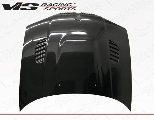 VIS Racing - Carbon Fiber Hood XTS Style for BMW 3 SERIES(E46) 2DR 99-03