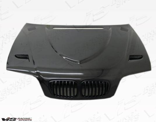 VIS Racing - Carbon Fiber Hood Euro R Style for BMW 3 SERIES(E46) 4DR 99-01