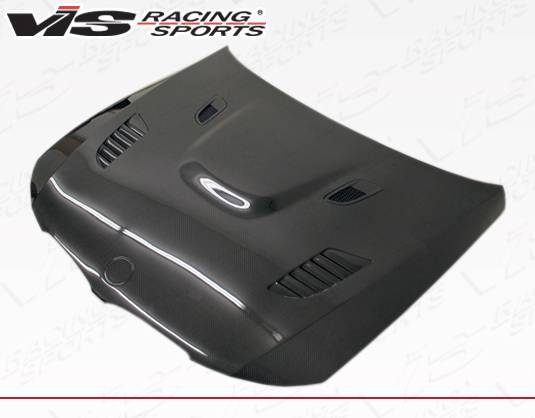 VIS Racing - Carbon Fiber Hood XTS Style for BMW 3 SERIES(E90) 4DR 09-11