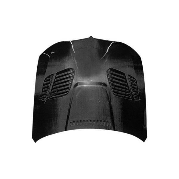 VIS Racing - Carbon Fiber Hood GTR Style for BMW 3 SERIES(E90) 4DR 06-08