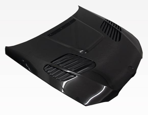 VIS Racing - Carbon Fiber Hood GTR Style for BMW 3 SERIES(E92) 2DR 07-10