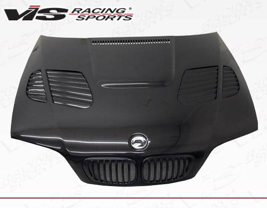 VIS Racing - Carbon Fiber Hood GTR Style for BMW 3 SERIES(M3) 2DR 01-06