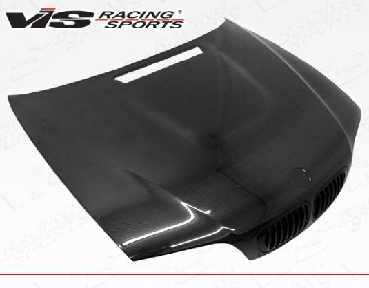 VIS Racing - Carbon Fiber Hood OEM Style for BMW 3 SERIES(M3) 2DR 01-06