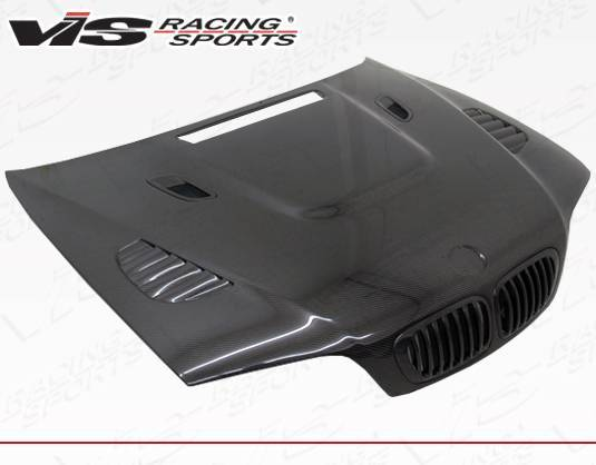 VIS Racing - Carbon Fiber Hood XTS Style for BMW 3 SERIES(M3) 2DR 01-06