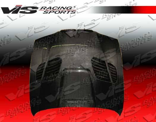 VIS Racing - Carbon Fiber Hood GTR Style for BMW 5 SERIES(E39) 4DR 97-03