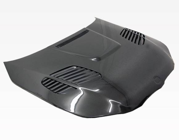 VIS Racing - Carbon Fiber Hood GTR Style for BMW 5 SERIES(E60) 4DR 04-10