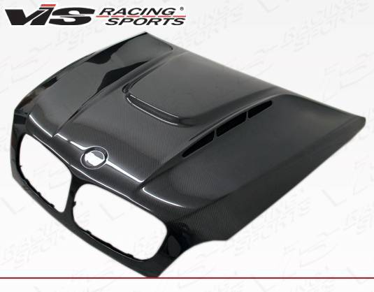 VIS Racing - Carbon Fiber Hood EVO GT Style for BMW X6 (E71) 4DR 2008-2014